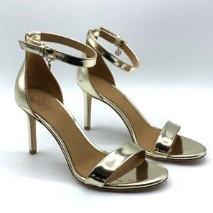 Tory Burch Women's Ellie Leather High-Heel Sandals